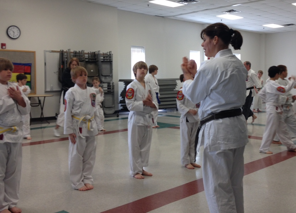 Karate classes for kids in Denton